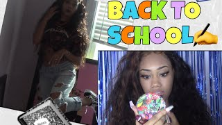 GRWM: First Day Of School | Hair, Makeup, Outfit Etc