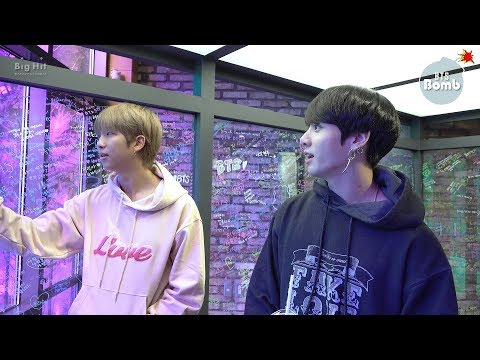 [BANGTAN BOMB] What's the meaning of '방.무.행.알' @ BTS POP-UP : HOUSE OF BTS - BTS (방탄소년단)