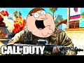 PETER GRIFFIN PLAYS CALL OF DUTY! (Funny Moments)