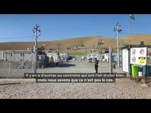 Irak : des jeunes racontent comment l'EI tente de les dresser à tuer