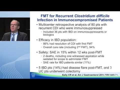 Use and Efficacy of Fecal Transplants for Refractory Clostridia Difficile in IBD Patients
