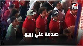 الحزن يخيم على علي ربيع والتهامي عقب هزيمة مصر أمام جنوب أفريقيا