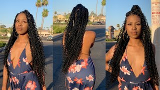 Bohemian Senegalese Twists Tutorial | Detailed Explanation !