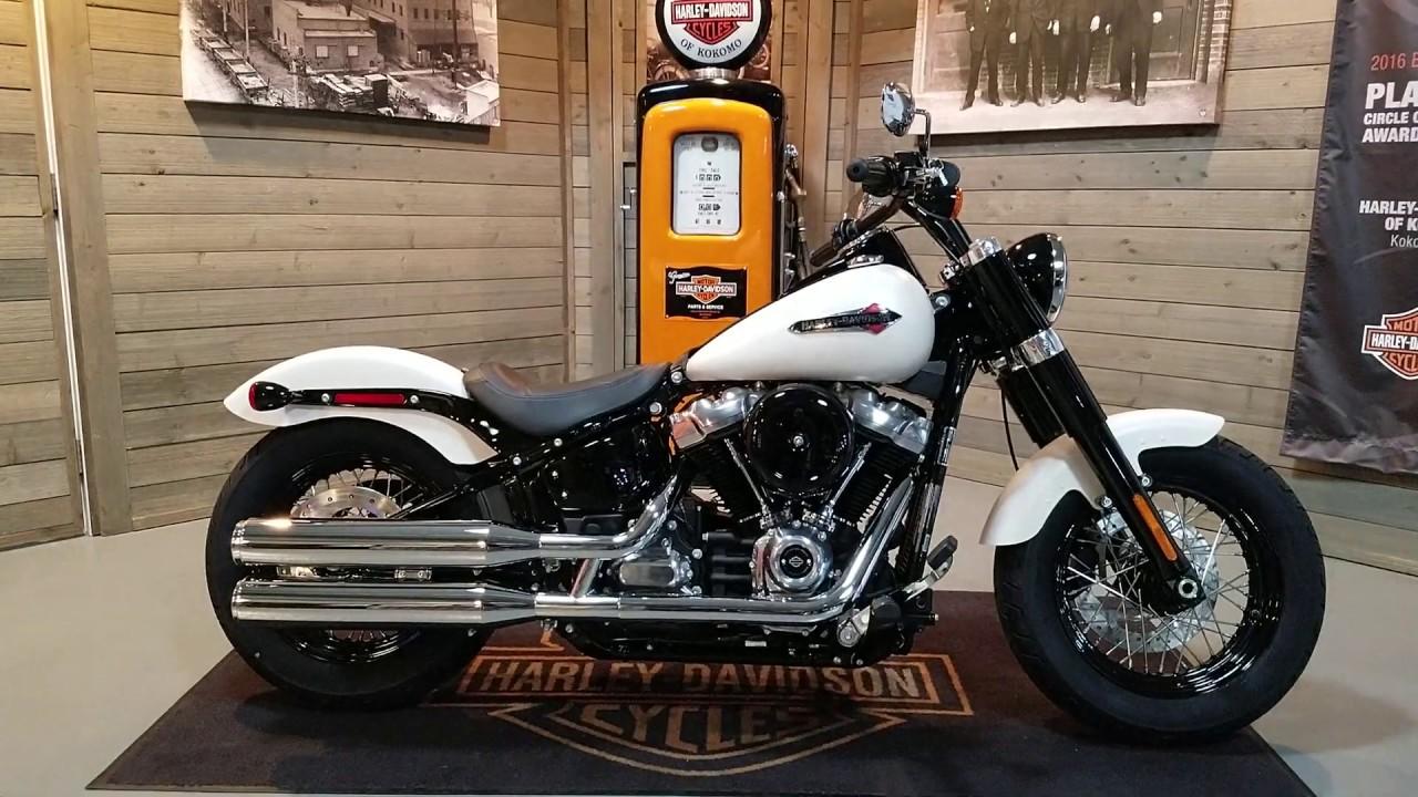 2019 Harley-Davidson Softail Slim FLSL-Bonneville Salt ...