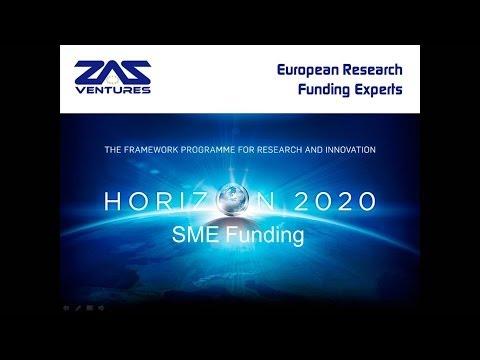 SME Funding in Horizon 2020