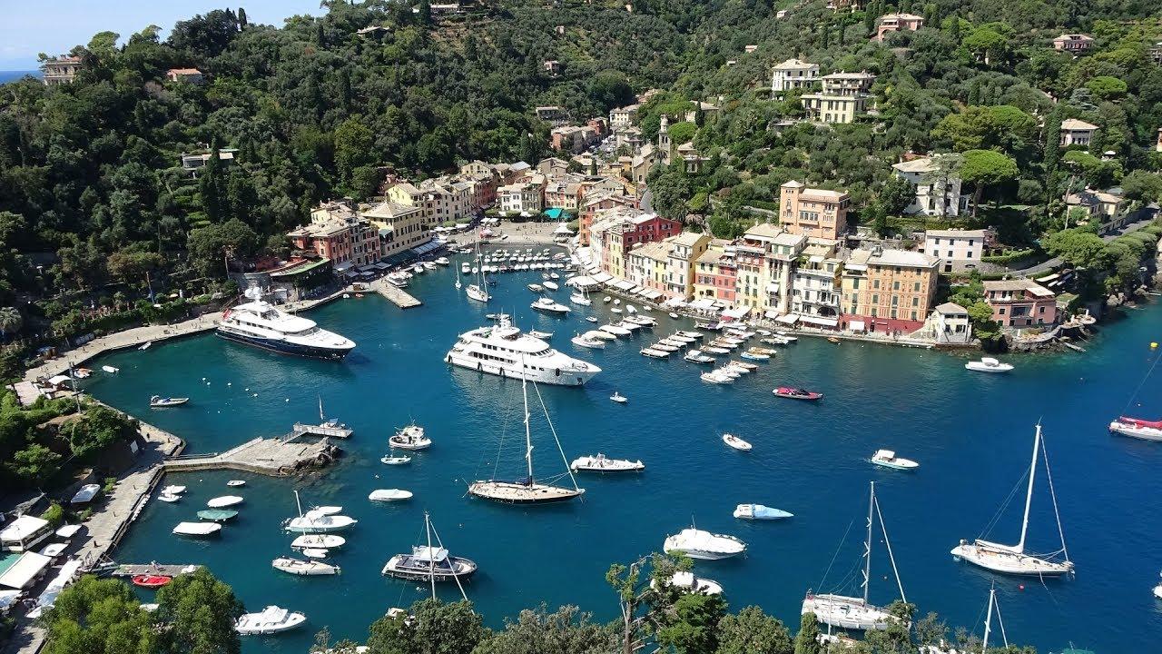 Italy portofino 4k youtube for Be italia