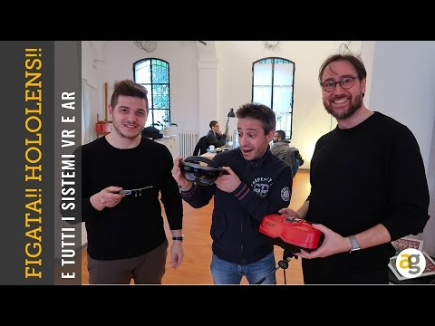 FIGATA!!! Ho provato gli HOLOLENS, DayDreams, Google Glass e non solo
