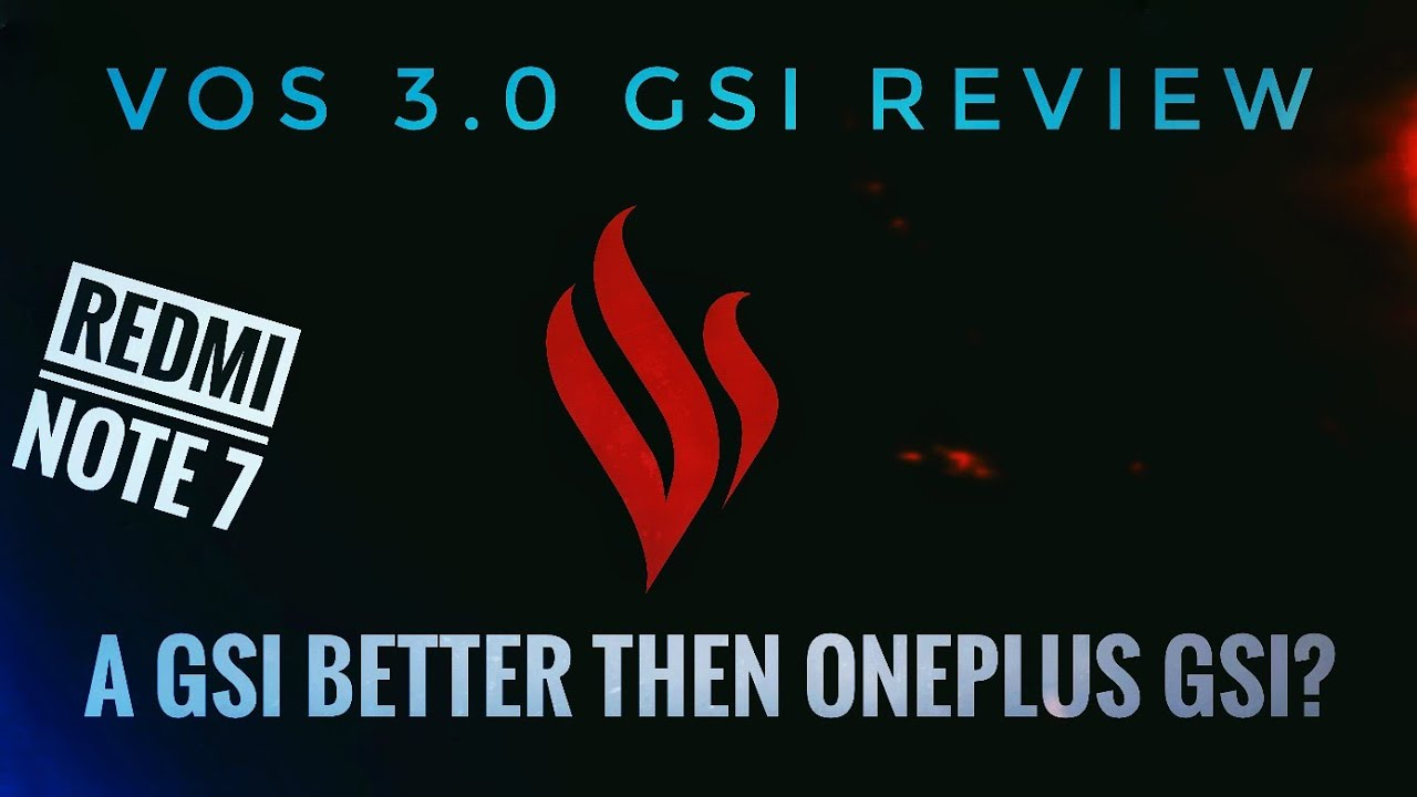 (GSI) (Lavender) VOS 3.0 Review For Redmi Note 7/7S   It Is Better!!!