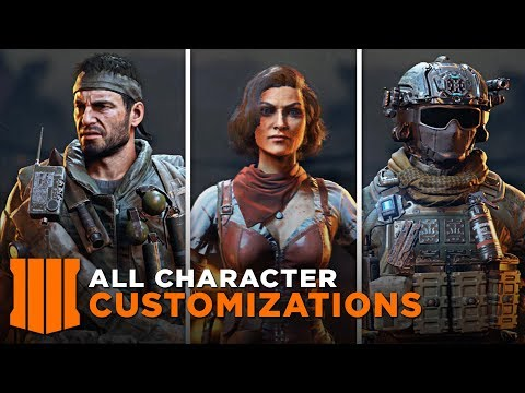 All Character Customization (All Skins/Specialist/Outfits) - Call of Duty: Black Ops 4