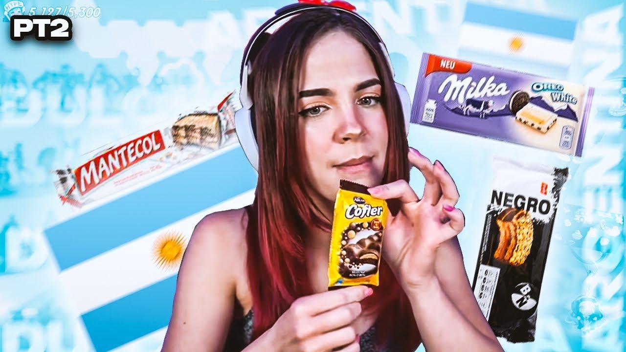 Probando dulces ARGENTINOS  🇦🇷🍬🍭🍫 Parte 2 | Staryuuki