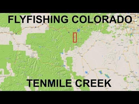 Fishing Colorado, Silverthorne, Colorado, Tenmile Creek