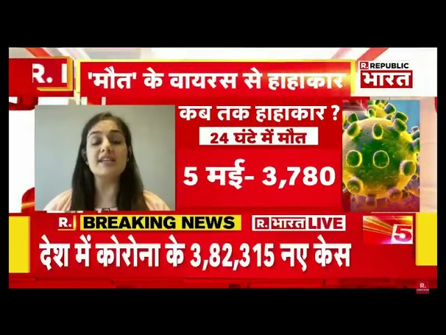 Panic situation due to outbreak of Covid-19, Dr. Shruti Malik on Republic Bharat