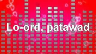Basilyo -  Lord Patawad [Lyrics]