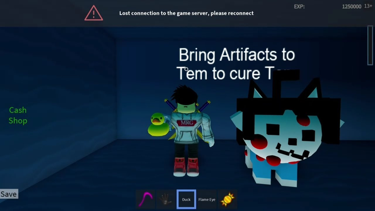 ROBLOX Undertale 3D Boss Battles: Tem Artifact