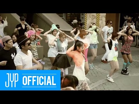 Wonder Girls 'Like this' M/V