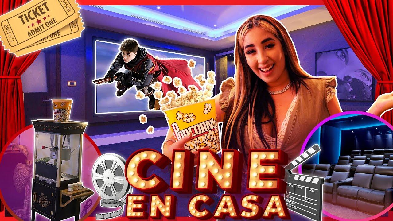 😱 ¡CONSTRUÍ UN CINE VIP EN MI CASA! 🎬🍿Construyendo Juntos: ep 5 | Queen Buenrostro