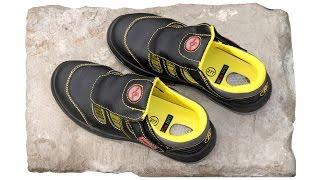 Рабочие сандалии РАББЕР(Легкие защитные кожаные сандалии. Ищете максимально комфортную и надежную профессиональную обувь на лето?..., 2016-01-30T08:58:12.000Z)