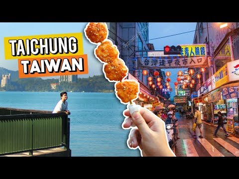 Exploring Taichung, Taiwan (Worth it ba?)   #RedVlogs