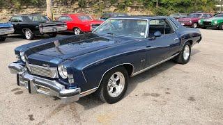Test Drive 1973 Chevrolet Monte Carlo SOLD $10,900 Maple Motors