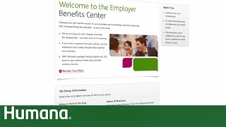 Employer Benefits Center for Small Business | Humana