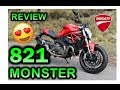 DUCATI MONSTER 821-Review en Español :) Blitz Rider