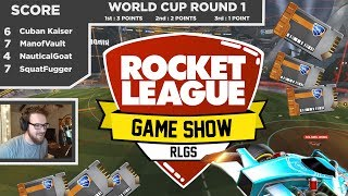 The Rocket League Game Show | Skill & Trivia Challenge | SunlessKhan