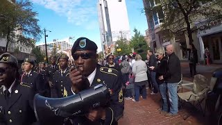 Sights and sounds of the Tarrant County Veterans Parade