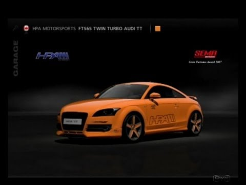 Gt5 Hpa Motorsports Ft565 Twin Turbo Audi Tt 532 Kw 1338 Kg