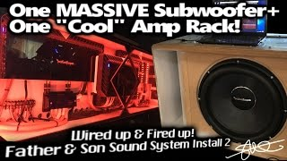 One MASSIVE Subwoofer + One