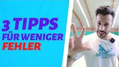 Sofort FEHLERFREIER spielen - 3 Tipps | MeinTennisGame.de