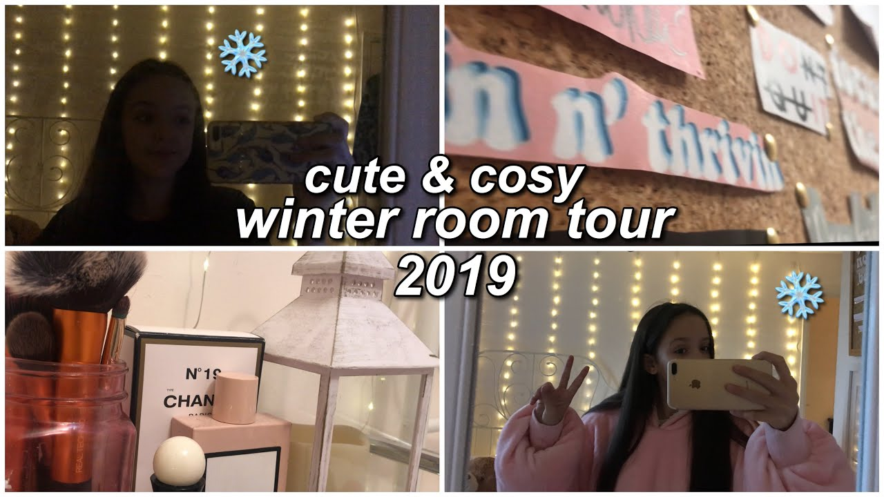 [VIDEO] - cute and cosy winter room tour || absolute heidi 1