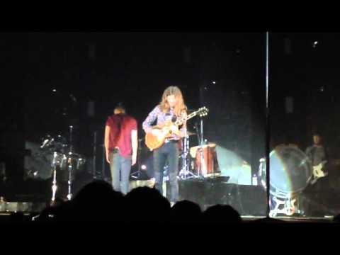 Daniel Wayne Sermon guitar solo introduction to I'm So Sorry Imagine Dragons Newcastle 14/11/15