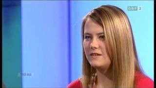 """Natascha Kampusch zu Gast im ORF """"Thema"""""""
