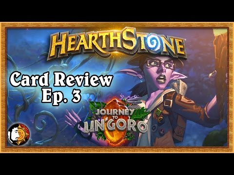 Hearthstone: Journey To Un'Goro Card Review (Part 3)