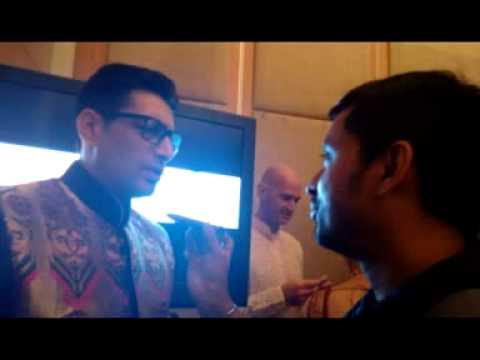 Actor Priyanshu Chatterjee with Rj Animesh live on 91.9 Friends Fm Kolkata