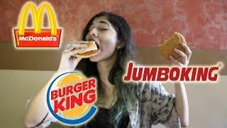 eating burger king
