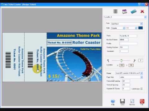 About Ticket Design forumimages – Ticket Creator Free