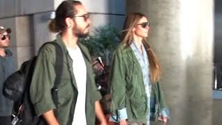 Supermodel Heidi Klum And Her 28 Year-Old-Boyfriend Tom Kaultiz Back In LA