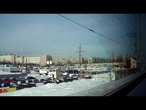 Смотреть САПСАН Прибытие в Санкт-Петербург онлайн