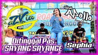 Download Lagu DITINGGAL PAS SAYANG SAYANGE - SEPHIA - AZKIA NADA - NEW APOLLO PRODUCTION mp3
