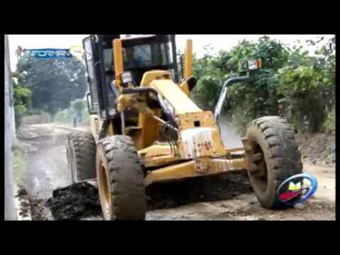 GAD Municipal trabaja en sectores de Chone