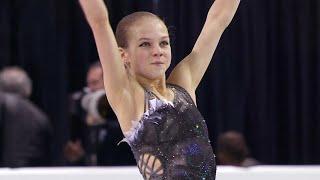 Александра Трусова. Короткая программа. Женщины. Skate Canada. Гран-при по фигурному катанию 2019/20