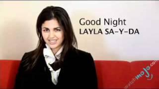 Arabic Translations How To Say Good Night Youtube