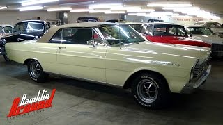 1965 Ford Galaxie 500 Convertible 289 V8 4 BBL