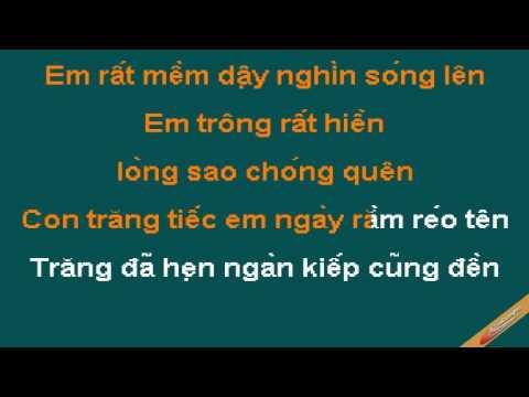 Bai Tinh Cho Giai Nhan Karaoke - Quang Dũng - CaoCuongPro
