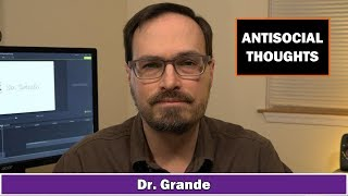 10 Antisocial Behaviors and the Thoughts that Cause Them | Antisocial Personality Disorder YouTube Videos