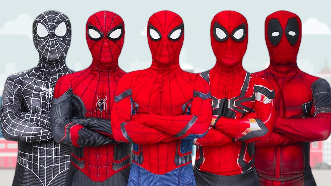 SUPERHEROS Family Story In Real Life | Season 1 (Full Episode) | Spider-Man, Venom, Deadpool