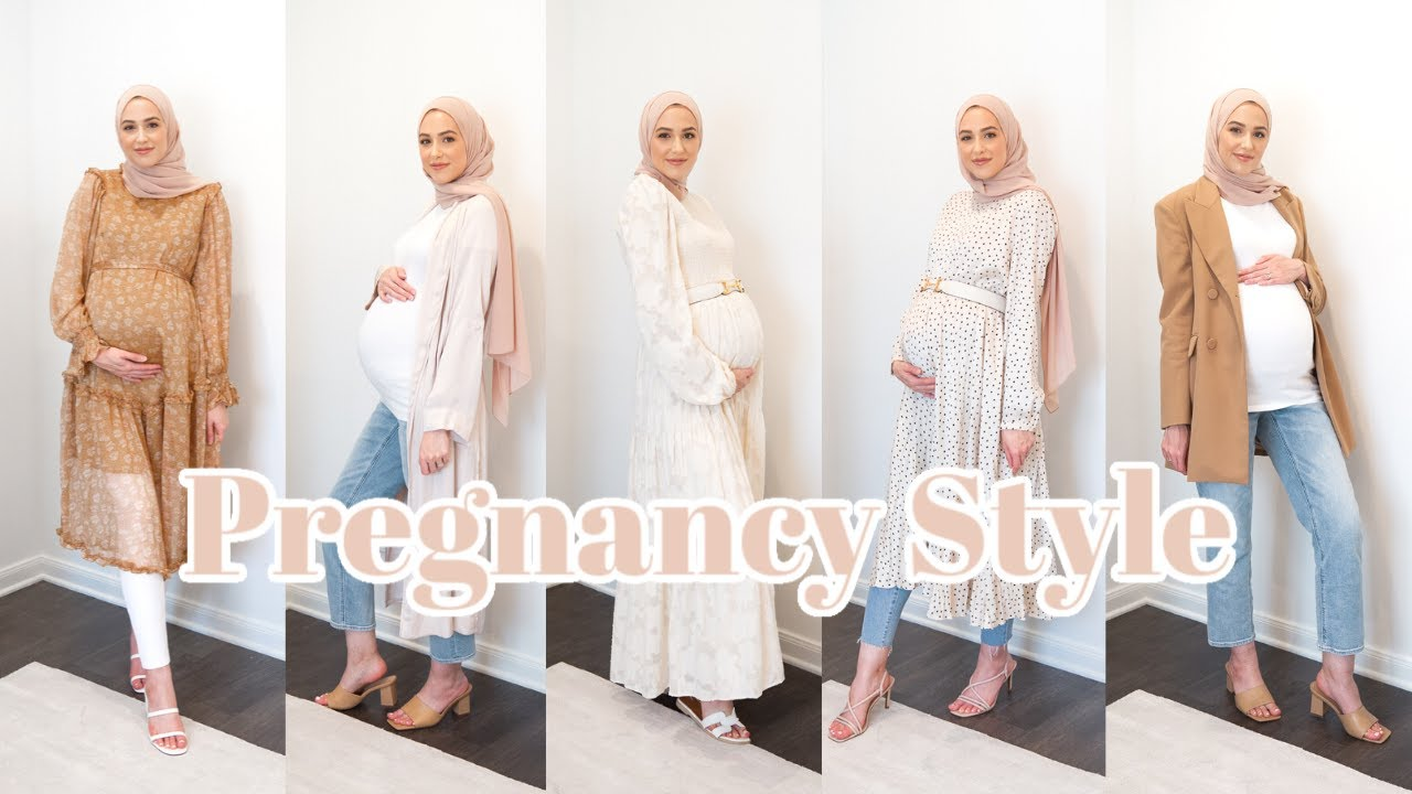 How To Dress The Bump! Pregnancy Style Tips and Outfit Ideas!