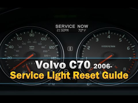 Volvo C70 Service Light Reset 2006