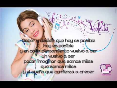 Ser Mejor - Violetta - Con Letra.